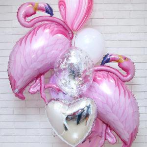 Розовая ласточка