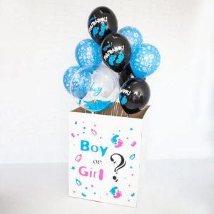 Коробка с шарами. Мальчик или девочка