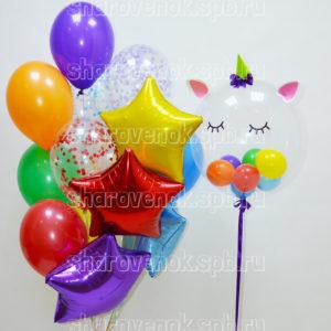 Коробка с шарами. Любимой